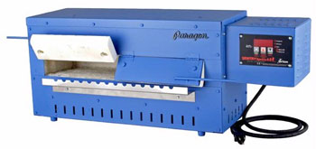 20 x 6 x 2.75 in. Paragon Blue Bird Kiln / Annealer with Sentry 3-key Controller