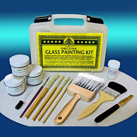 Peter McGrain Deluxe Traditional Glass Painting Kit