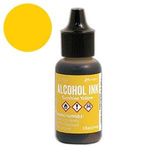 Alcohol Ink Sunshine Yellow ++