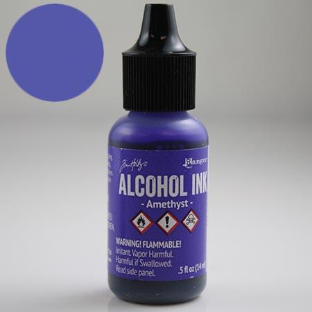 Alcohol Ink Amethyst ++