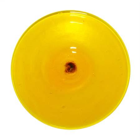 3.75 in. Yellow Rondel