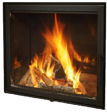 Robax Fireplace Glass 43 x 77 in, 5mm