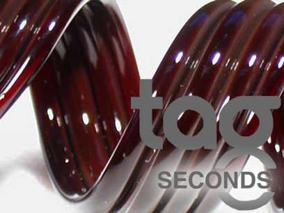 Second - Dark Red Elvis 33 COE Rod Bundle