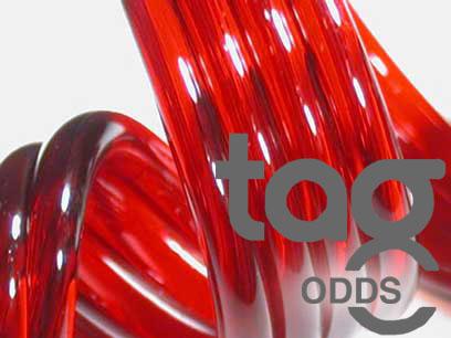 Odd - Red Elvis 33 COE Rod Bundle