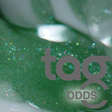 Odd - Green Stardust 33 COE Rod Bundle