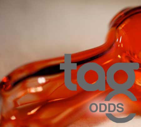 Odd - Orange Elvis 33 COE Rod Bundle