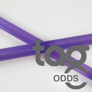 Odd - Purple Lollypop 33 COE Rod Bundle