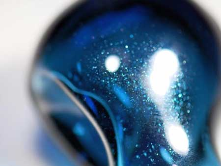 Heavy Blue Stardust 33 COE Rod (1/4 lb. minimum order)