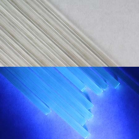 Blu-V (UV) 33 COE Rod (1/4 lb. minimum order)