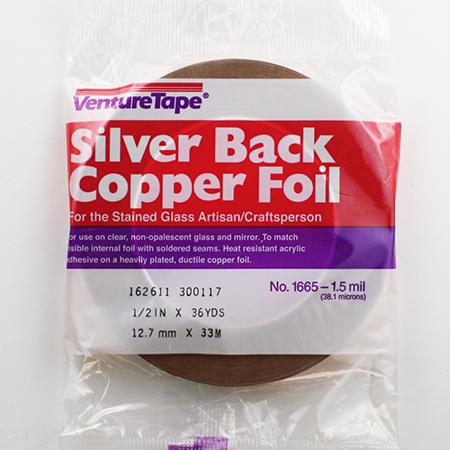 Silver Back Foil Tape (1/2 in.) 1.5 mil