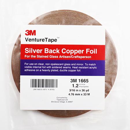 Silver Back Foil Tape (3/16 in.) 1.5 mil