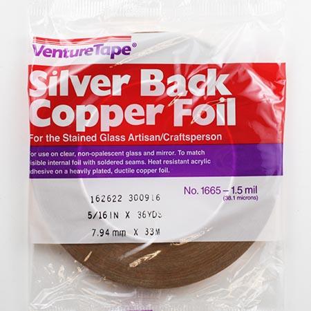 Silver Back Foil Tape (5/16 in.) 1 mil