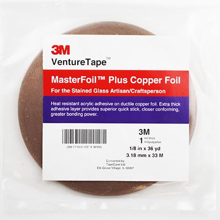Copper Foil Tape (1/8 in.) 1 mil