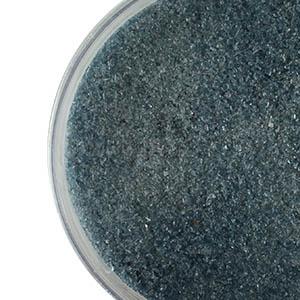 Steel Blue Transparent Fine Frit 96 COE