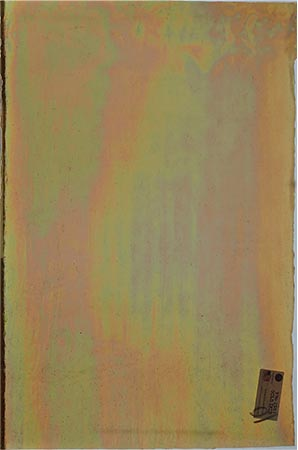 Y96 Gold Cathedral Iridized Fusible 96 COE