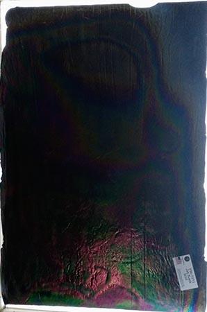 Y96 Jet Black Iridized Fusible 96 COE