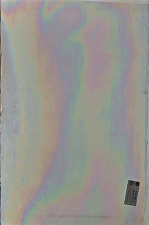 Y96 Clear Cathedral Iridized Fusible 96 COE