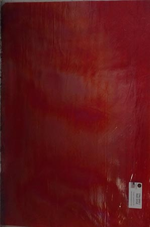 Y96 Red Cathedral Iridized Fusible 96 COE