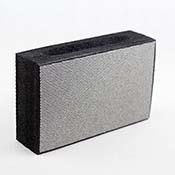 Diamond Abrasive Pad Coarse 120 Grit (Black)