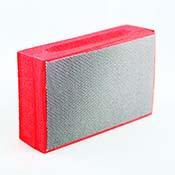 Diamond Abrasive Pad Medium 200 Grit (Red)