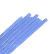 Milky Blue 6-8 mm Rod 33 COE (1/4 lb. minimum order)