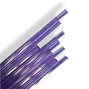 Purple Amethyst 6-8 mm Rod 33 COE (1/4 lb. minimum order)