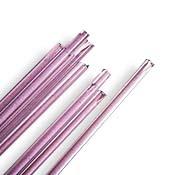 Pink 6-8 mm Rod 33 COE (1/4 lb. minimum order)