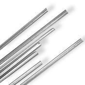 White 6-8 mm Rod 33 COE (1/4 lb. minimum order)