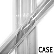 Clear 25.4 x 4 mm Heavy Wall Tube 33 coe (~54 pound case)
