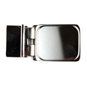 Square Belt Buckle Blank (smaller design than original) Nickel-plated