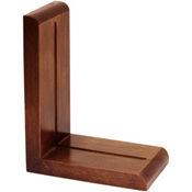 Medium Cherry Finished Book Ends (pair)