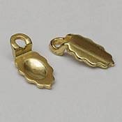 Gold Plated Earrings Bails Small (pack of 24)