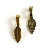 Gold-Plated Small Jewelry Bails (Package of 25)