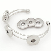 Snap & Switch Bracelet with Three Discs