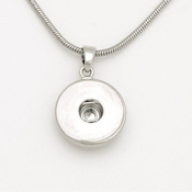 Snap & Switch Necklace with One Disc