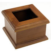 Small 5-3/8 in. Square Box (will hold 3-3/4 x 3-3/4 in. glass)