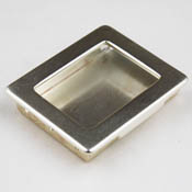 Silver Rectangle Gallery Pendant