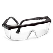 Safety Glasses Black Frame