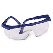 Safety Glasses Blue Frame