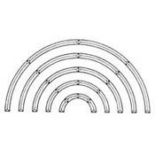Arc Pencil Bevel 4-pack; 14 in. Outer Diameter, 12 in. Inner Diameter