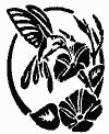 Rub'N'Etch Hummingbird Ovals