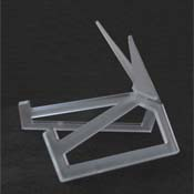 Small Clear Acrylic Display Stand 8-1/2 x 5-1/2""