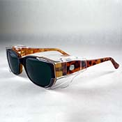 Aura Boro Glasses - Shade #3 in OG400 Frame (Tortoise Shell)
