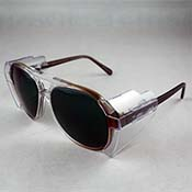 Aura Boro Glasses - Shade #3 in SG200 Frame (Brown Fade)