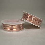 Bare Copper Wire (18 Gauge) 4 oz Spool
