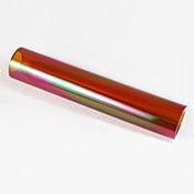 """Iridized Borosilicate Tube - Amber - 25 x 4 mm, 5.25"""""""