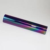 "Iridized Borosilicate Tube- Colbalt - 25 x 4 mm, 5.25"""