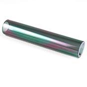 """Iridized Borosilicate Tube - Grey - 25 x 4 mm, 5.25"""""""