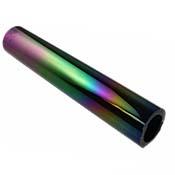 Iridized Borosilicate Tube - Black - 25 x 4 mm, 5.25 in.