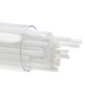 2mm Opaque White 17-1/2 in. Stringer 90 COE (6.5 oz. tube)